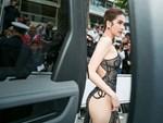 Tiết lộ gây shock từ NTK Đỗ Long: Ngọc Trinh hoàn toàn không mặc nội y trong bộ đồ hở bạo tại Cannes-6