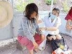 Giấu gia đình, nữ bác sĩ Hà Nội đến chùa ở cữ-5