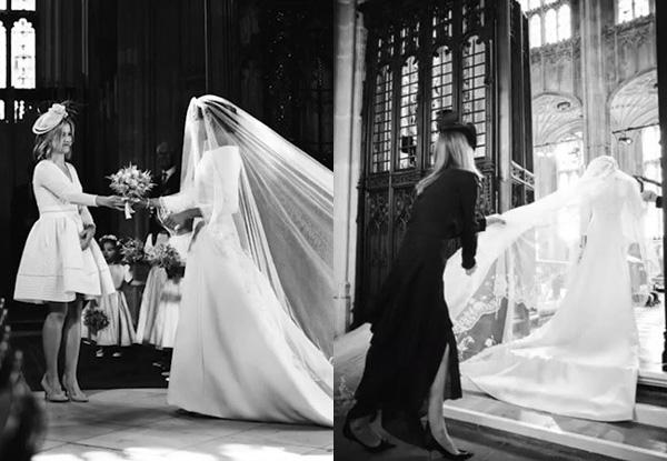 Trong video kỉ niệm 1 năm kết hôn, Meghan khiến người hâm mộ bức xúc khi coi thường chị dâu Kate bằng hành động khó chấp nhận này-1
