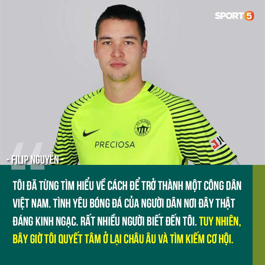 Thủ môn Việt kiều Filip Nguyễn từ chối về chơi ở V.League, nhưng sẵn sàng khoác áo ĐT Việt Nam-1