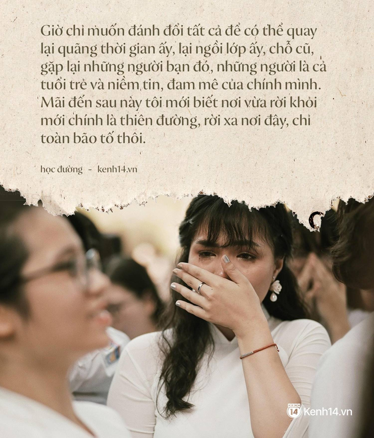 Tại sao học sinh lớp 12 khóc như mưa trong ngày bế giảng nhưng vài năm sau họp lớp không ai đi?-2