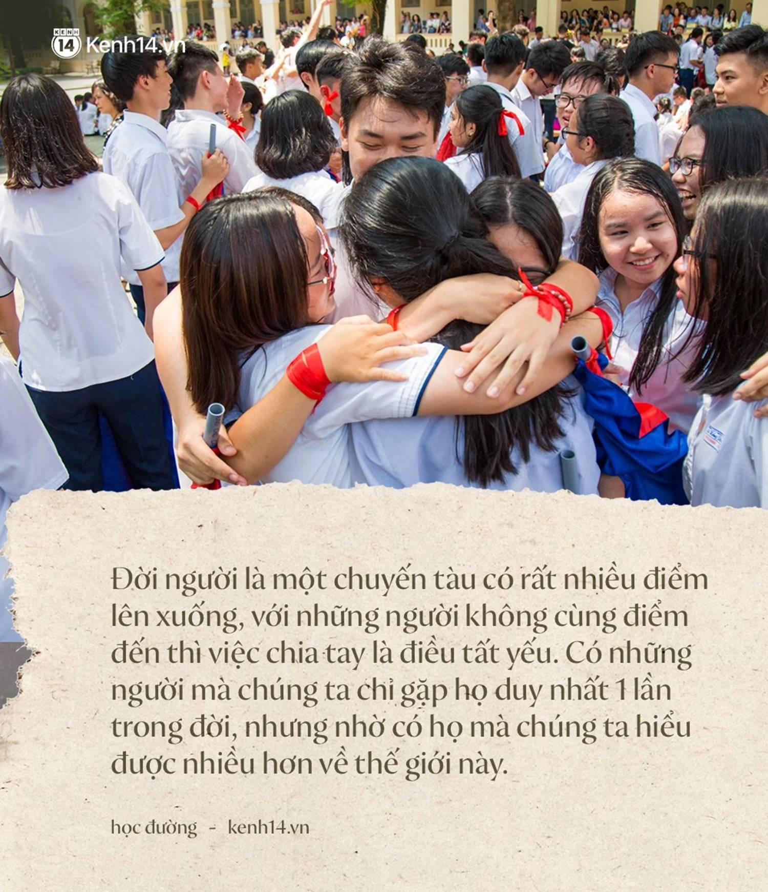 Tại sao học sinh lớp 12 khóc như mưa trong ngày bế giảng nhưng vài năm sau họp lớp không ai đi?-4