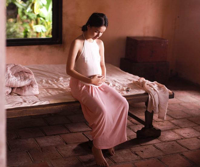 Cách mặc lớn trước tuổi của thiếu nữ diễn cảnh nóng trong phim Vợ ba-3