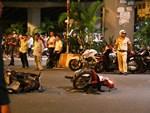 Hà Nội: Nam tài xế taxi ngủ ngật đâm vỡ thành cầu Chương Dương-3