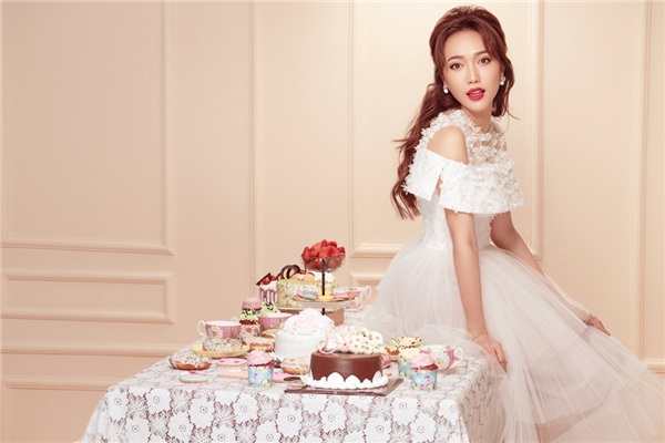 Diệu Nhi hoá công chúa trong loạt ảnh thời trang mừng sinh nhật-3