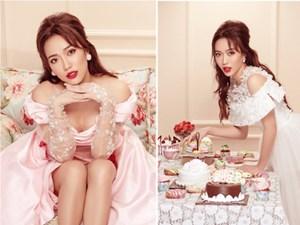 Diệu Nhi hoá công chúa trong loạt ảnh thời trang mừng sinh nhật