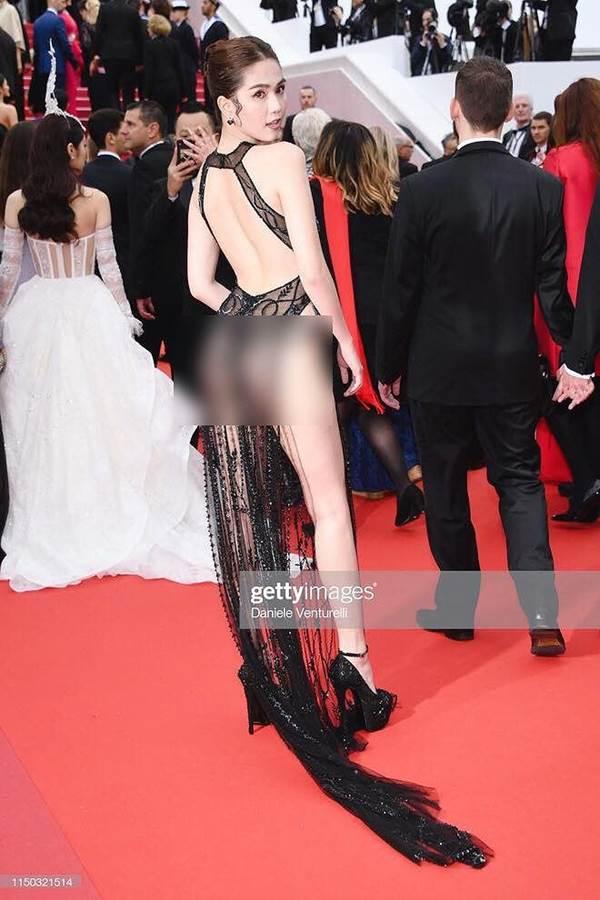 Dân mạng phát hiện Ngọc Trinh tạo dáng, mặc váy giống hệt Kendall Jenner-1