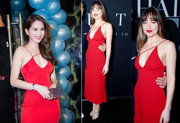 Dân mạng phát hiện Ngọc Trinh tạo dáng, mặc váy giống hệt Kendall Jenner-7