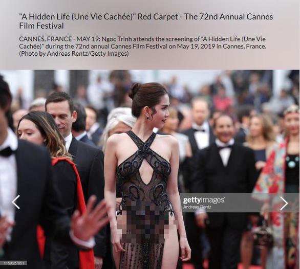 Thảm đỏ Cannes: Ngọc Trinh đạt được mục đích và nỗi xấu hổ của nhiều người Việt-3