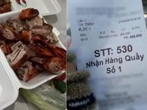 Bữa ăn vịt quay trị giá 380 nghìn đầy nước mắt của tài xế xe ôm khiến dân mạng bức xúc