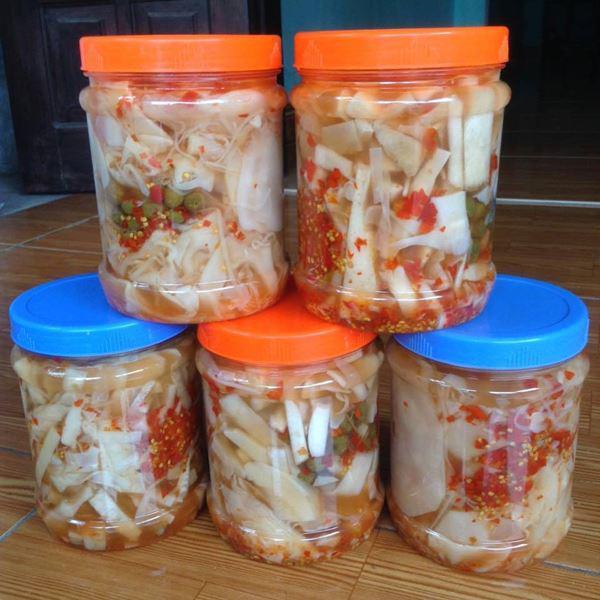Cách muối măng chua ớt tỏi ngon để được lâu không nổi váng-6