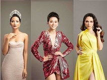 Dàn Hoa hậu Việt dành danh hiệu quốc tế hội ngộ trong bộ ảnh 'Tự hào Việt Nam'
