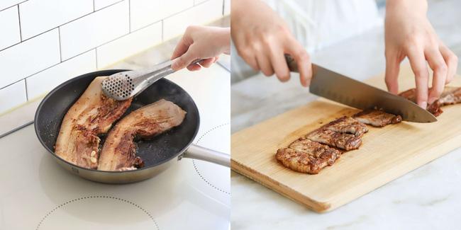 Mỗi khi bận rộn tôi làm món bún thịt chiên, bữa tối vừa nhanh lại vừa ngon-4