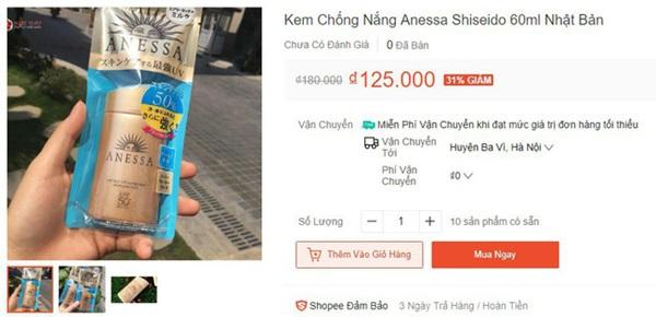 Trung Quốc phát hiện cơ sở làm giả hơn 7.000 lọ kem chống nắng Anessa, nhiều shop Việt Nam bán chỉ bằng 1/10 giá gốc-7