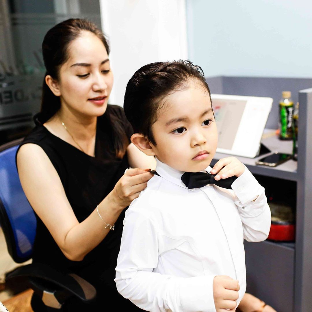Bộc lộ năng khiếu dancesport khi mới hơn 3 tuổi, con trai Phan Hiển - Khánh Thi lần đầu ra sàn nhảy khiến nhiều người bất ngờ-2