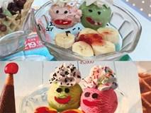 Dân mạng trầm trồ vì hình ảnh cốc kem