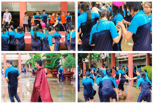 Thấy học sinh dùng súng nước bắn nhau ngày bế giảng, thầy hiệu phó mang hẳn vòi cứu hoả ra phun nước chống lại toàn trường!-11