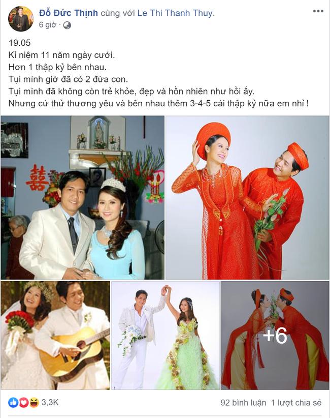 Vừa kỷ niệm 11 năm ngày cưới, Thanh Thúy lại gào thét đòi tiền chồng trên MXH, chuyện gì đang xảy ra vậy?-1