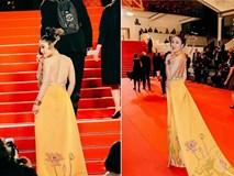 Sau Ngọc Trinh, thêm người đẹp Việt khoe lưng trần quyến rũ trên thảm đỏ Cannes