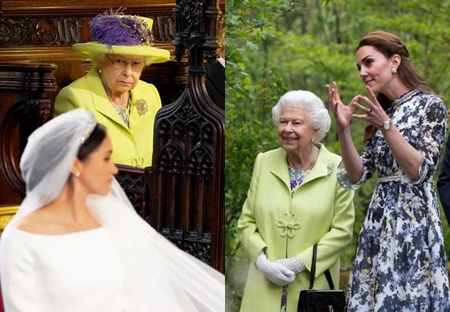 Nữ hoàng Anh gây bất ngờ khi xài lại đồ cũ và đằng sau hành động tái chế này là ẩn ý sâu xa về hai nàng dâu hoàng gia-1