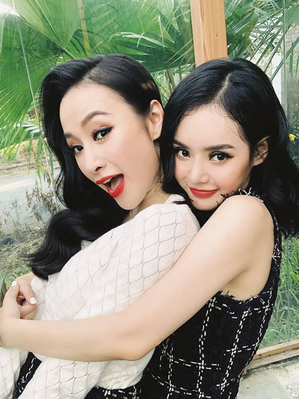 Em gái Angela Phương Trinh xinh đẹp và gợi cảm muôn phần ở tuổi 23-2