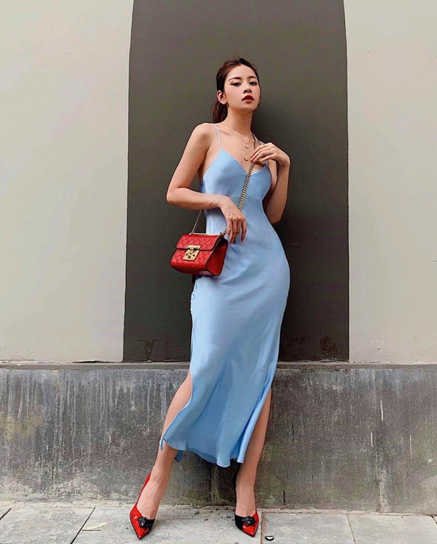 """Thống trị street style, sao Việt đua nhau diện crop top sương sương"""", váy đầm bánh bèo""""-1"""