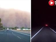 Video: Cảnh tượng ngày biến thành đêm như tận thế ở Úc