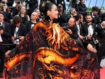 Sau Ngọc Trinh, đến lượt Trương Thị May xuất hiện trên thảm đỏ Cannes khiến truyền thông quốc tế náo loạn