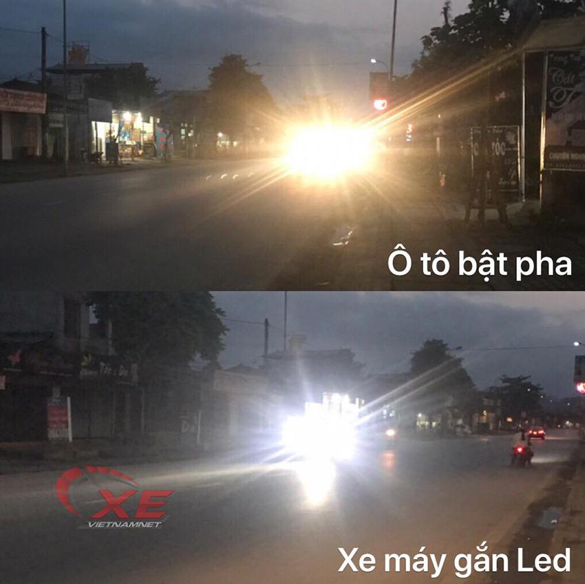 Bức xúc tài xế Việt bật pha chói mắt, gieo họa cho cộng đồng-1