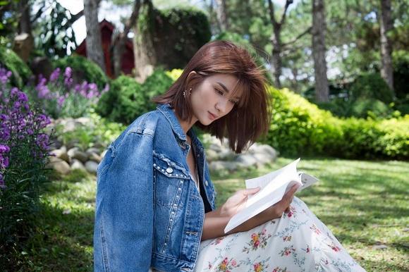 Diễn viên Kim Tuyến đẹp mơ màng giữa sắc hoa Đà Lạt-8