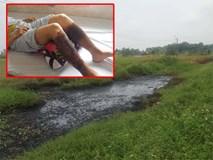 Người phụ nữ Hải Phòng bắt cua bị bỏng chân: Thêm điểm đổ chất thải độc