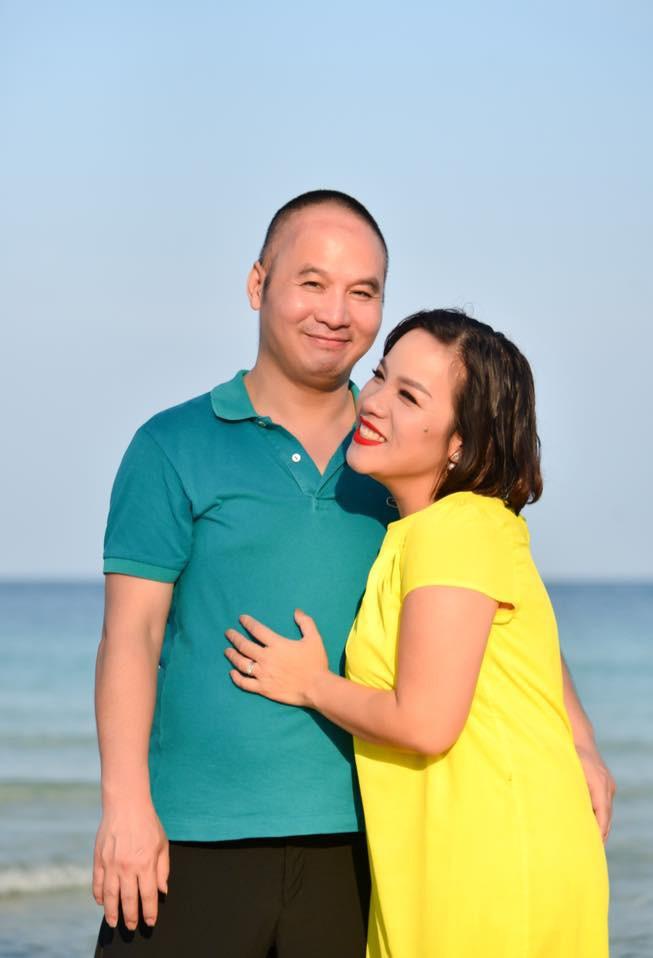 Em gái diva Mỹ Linh và hành trình hơn 5 năm cùng chồng chống chọi ung thư não-3