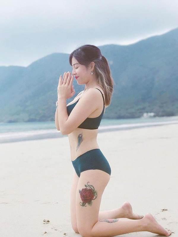 BTV Hoàng Linh lại tung ảnh bikini đốt mắt người nhìn-2