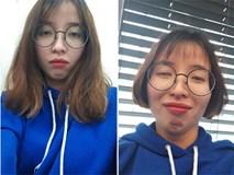 Gái xinh nhận về kết quả thê thảm khi cắt tóc vì thất tình, dân mạng chép miệng: Thấy cũng tội mà thôi vẫn cười!