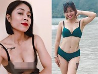BTV Hoàng Linh lại tung ảnh bikini 'đốt mắt' người nhìn