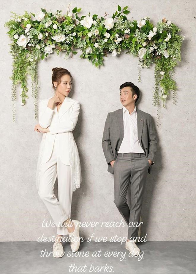 Lộ ảnh mới nhất của cô dâu Đàm Thu Trang, ngày lên xe hoa với Cường Đô la chuẩn bị đến rồi-2