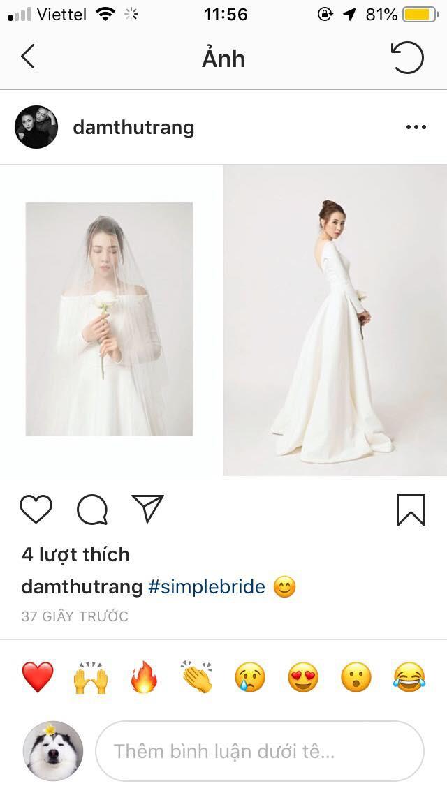 Lộ ảnh mới nhất của cô dâu Đàm Thu Trang, ngày lên xe hoa với Cường Đô la chuẩn bị đến rồi-1