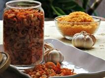 Cách làm tôm khô tại nhà ngon lại để được lâu ăn dần