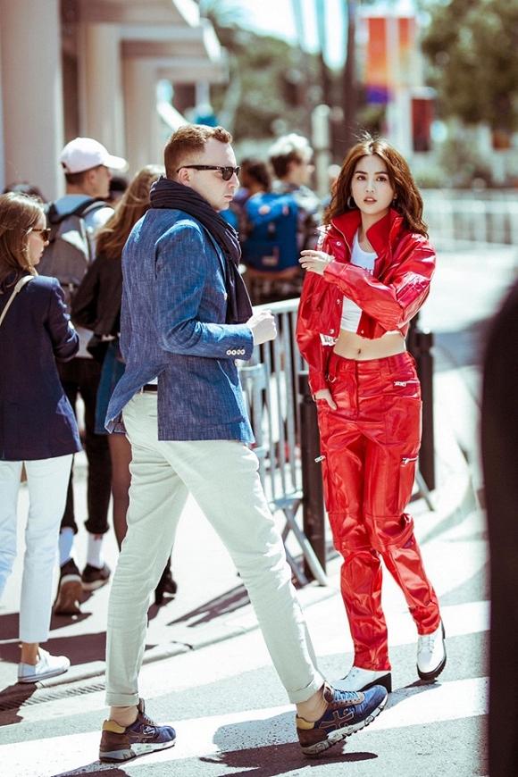 Chán hở bạo, Ngọc Trinh tung loạt ảnh kín đáo trên đường phố Cannes-11
