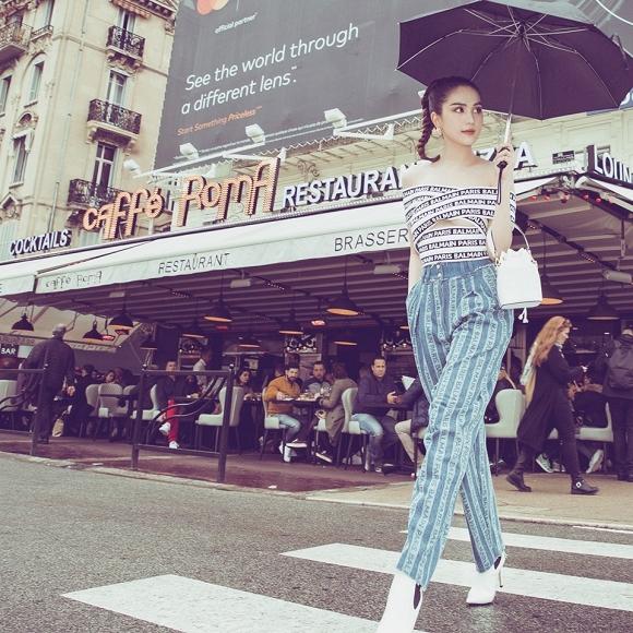 Chán hở bạo, Ngọc Trinh tung loạt ảnh kín đáo trên đường phố Cannes-15