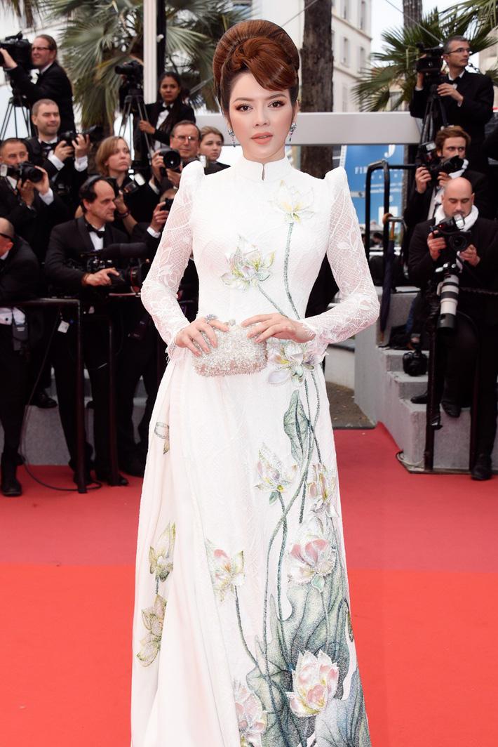 """Lý Nhã Kỳ khẳng định: Lựa chọn trang phục ở Cannes là cách nhận biết ngôi sao và khán giả vô danh""""-1"""