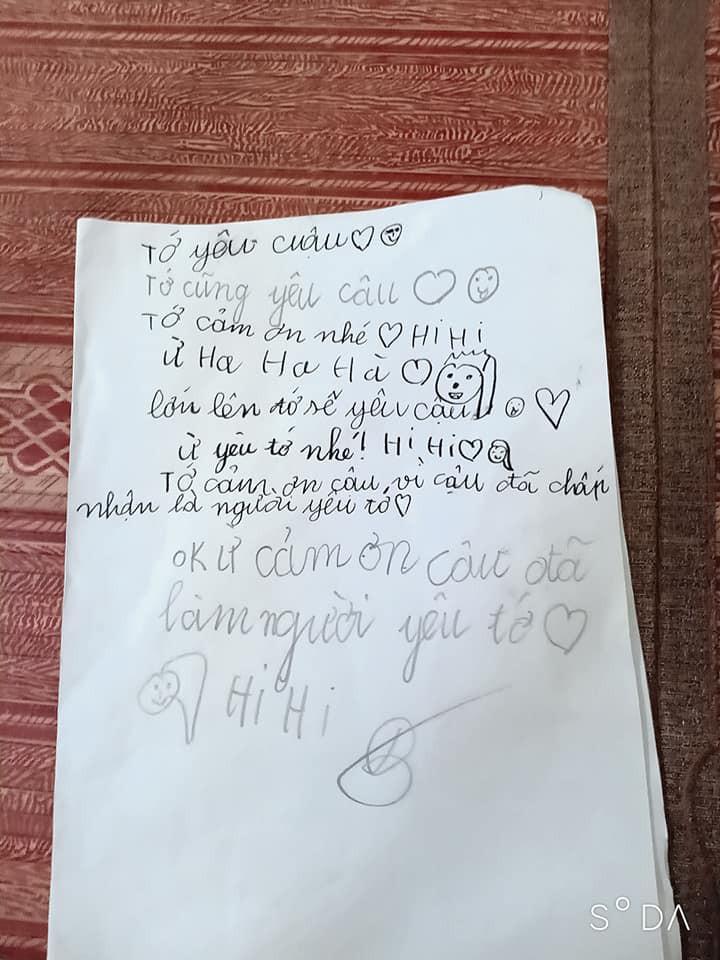 Cậu bé lớp 2 viết thư tay tỏ tình với bạn gái, nhưng cái kết khét lẹt lại khiến dân mạng cười bò-3
