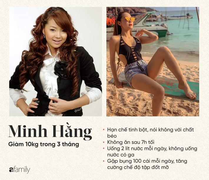 3 người đẹp Việt tiết lộ chế độ ăn giảm cân thành công, trong đó có một người giảm những 14kg chỉ vẻn vẹn 3 tháng-3