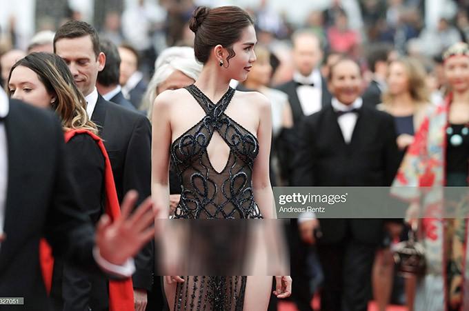 Ngọc Trinh tự hào gọi ồn ào gây sốc ở thảm đỏ LHP Cannes là màn trình diễn để đời-2