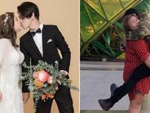 """Cặp đôi """"đũa lệch"""" chồng gầy vợ béo cưới nhau sau 2 tháng hẹn hò, chồng quyết không cho vợ giảm cân"""