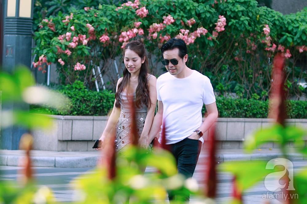 Dương Khắc Linh cùng vợ sắp cưới khoác vai, công khai ôm hôn tình tứ trước ngày lên xe hoa-15