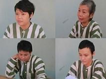 4 nữ nghi can vụ xác người đổ bê tông làm việc với công an
