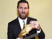 Messi giành danh hiệu Chiếc giày Vàng châu Âu lần thứ 6