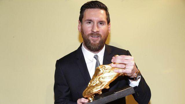 Messi giành danh hiệu Chiếc giày Vàng châu Âu lần thứ 6-1