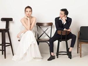 Đàm Thu Trang và Cường Đô La đăng ảnh cưới trước hôn lễ